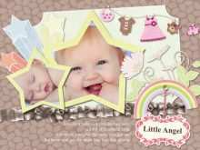 84 Visiting Birthday Card Template For Baby Girl Now for Birthday Card Template For Baby Girl