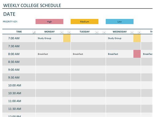 85 Adding School Schedule Template Xls Photo with School Schedule Template Xls
