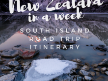 Travel Itinerary Template Nz