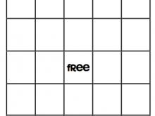85 Blank Bingo Card Template To Print for Bingo Card Template To Print