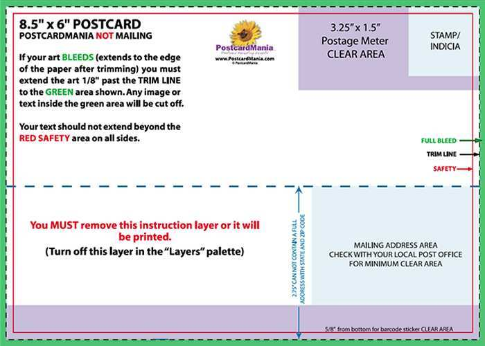 85 Create 5X7 Postcard Template Indesign for Ms Word for 5X7 Postcard Template Indesign