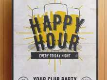 85 Create Happy Hour Flyer Template Free Download with Happy Hour Flyer Template Free
