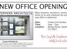 Invitation Cards Templates For New Office Opening
