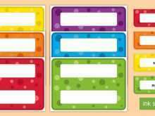 Name Card Template Twinkl