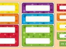 Name Card Template Twinkl