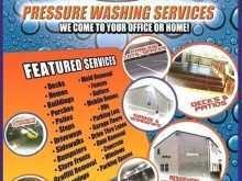Pressure Washing Flyer Template