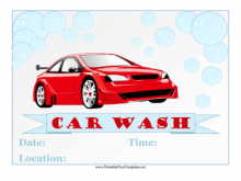85 Creating Car Wash Flyers Templates for Ms Word by Car Wash Flyers Templates