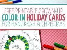 85 Creating Holiday Card Coloring Templates Download with Holiday Card Coloring Templates