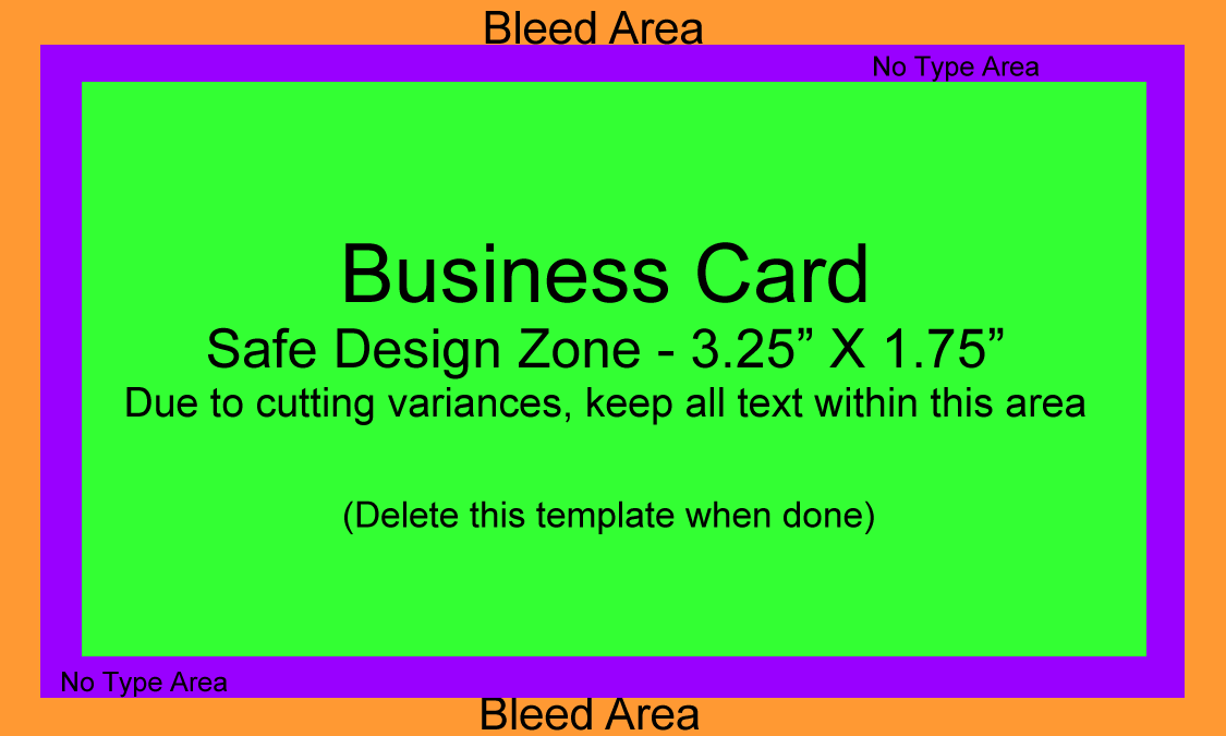 85 Creative Business Card Template With Bleed Illustrator in Photoshop with Business Card Template With Bleed Illustrator