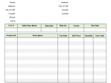 85 Customize Basic Vat Invoice Template in Photoshop with Basic Vat Invoice Template