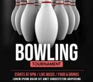 85 Customize Our Free Bowling Flyer Template Free Formating with Bowling Flyer Template Free