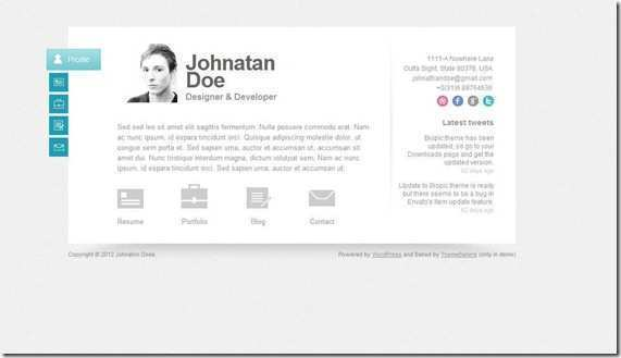 85 Customize Our Free Business Card Template Wordpress With Stunning Design by Business Card Template Wordpress