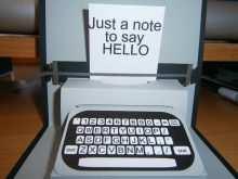 85 Customize Typewriter Pop Up Card Template Templates for Typewriter Pop Up Card Template