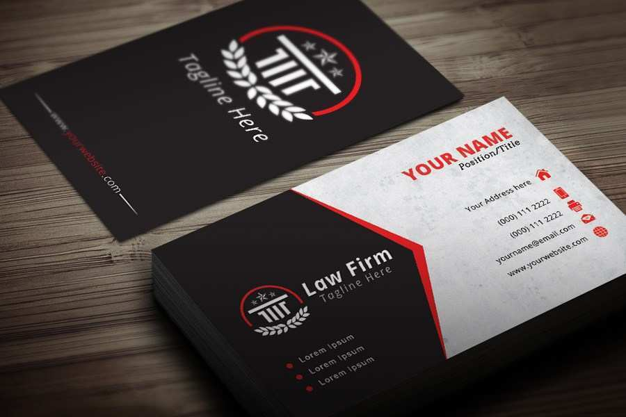 85 Format Business Card Templates Law Firm Templates with Business Card Templates Law Firm