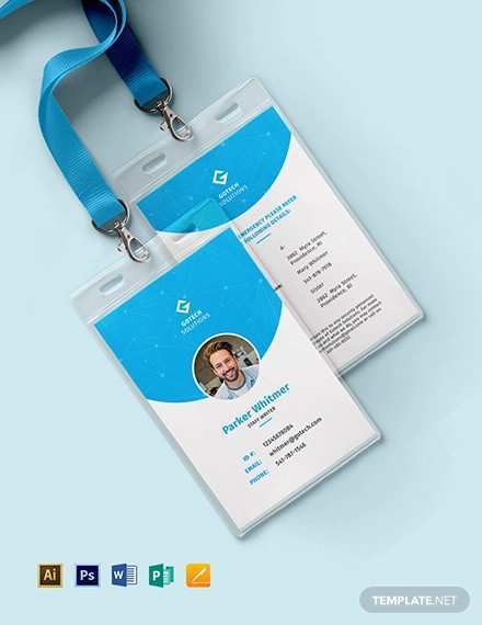 Employee Identification Card Template Free Download from legaldbol.com