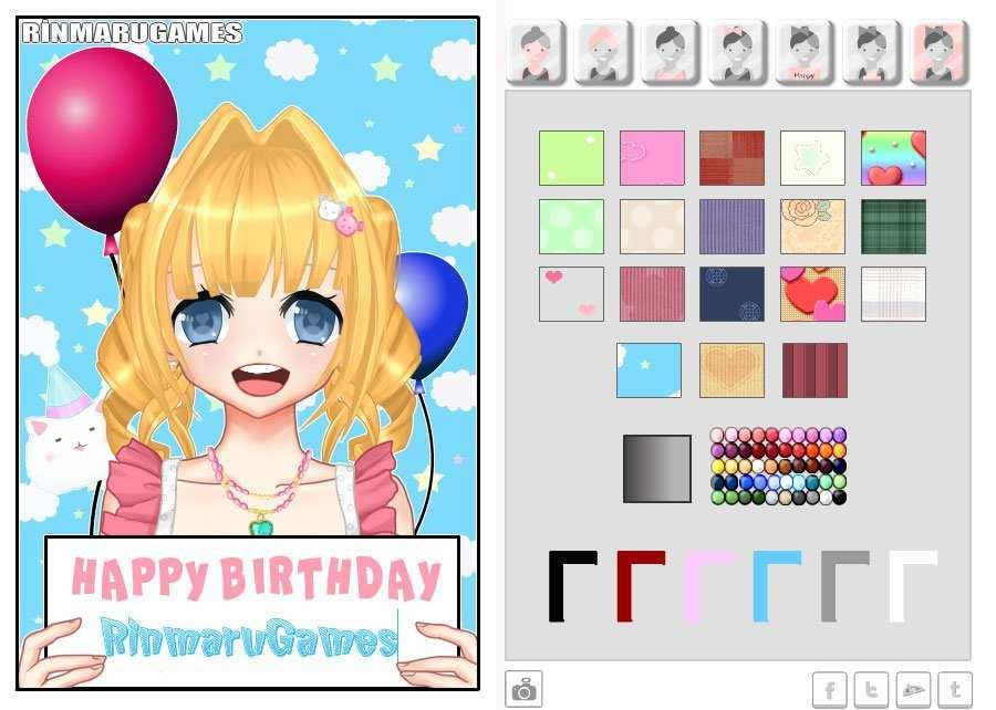 85 Free Printable Birthday Card Maker Game Maker with Birthday Card Maker Game