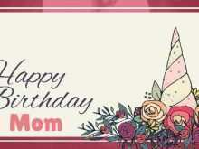85 How To Create Birthday Card Template For Mummy With Stunning Design with Birthday Card Template For Mummy