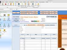 85 Report Blank Auto Repair Invoice Template Maker for Blank Auto Repair Invoice Template