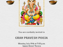 85 Standard Invitation Card Template Pooja Maker with Invitation Card Template Pooja