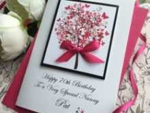 85 Standard Nanny Birthday Card Templates With Stunning Design with Nanny Birthday Card Templates