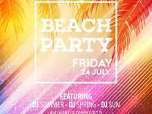 85 The Best Beach Flyer Template Free Templates with Beach Flyer Template Free