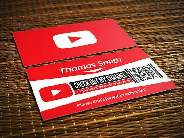 85 Visiting Business Card Template Youtube Formating with Business Card Template Youtube