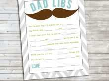 Father'S Day Card Template Microsoft Word