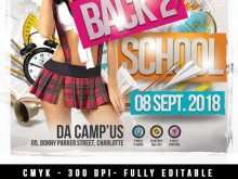 86 Adding Back To School Party Flyer Template Free Download Maker with Back To School Party Flyer Template Free Download