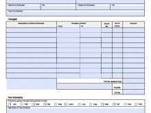 86 Best Blank Labor Invoice Template for Ms Word by Blank Labor Invoice Template
