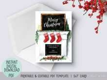 86 Christmas Card Templates Pdf Photo for Christmas Card Templates Pdf