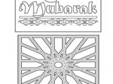 86 Create Eid Card Templates To Colour Layouts by Eid Card Templates To Colour