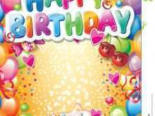 86 Create Happy Birthday Card Templates Free in Word for Happy Birthday Card Templates Free