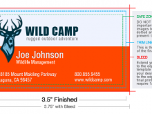 86 Creating Business Card Size Ad Template For Free with Business Card Size Ad Template