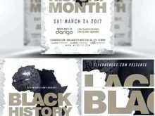 86 Customize Black History Month Flyer Template Free with Black History Month Flyer Template Free