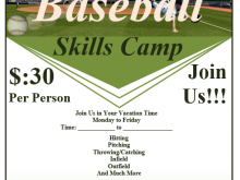 86 Customize Our Free Baseball Flyer Template Free in Word by Baseball Flyer Template Free