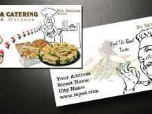 86 Customize Our Free Catering Name Card Template With Stunning Design with Catering Name Card Template