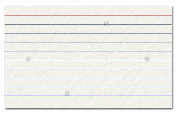 86 Format Blank Index Card Template Word in Photoshop by Blank Index Card Template Word