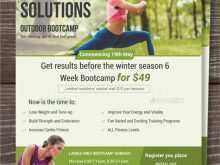 86 Format Fitness Boot Camp Flyer Template Now by Fitness Boot Camp Flyer Template