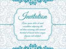 86 Format Invitation Card Template Vintage Now by Invitation Card Template Vintage