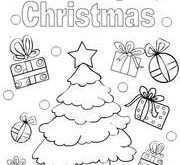 86 Free Printable Christmas Card Template For Colouring Templates for Christmas Card Template For Colouring