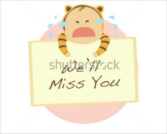 86 Free Printable Farewell Card Templates List Psd File For Farewell Card Templates List Cards Design Templates
