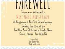86 How To Create Farewell Card Templates Template for Ms Word with Farewell Card Templates Template