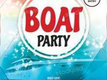 86 Online Boat Cruise Flyer Template in Photoshop for Boat Cruise Flyer Template