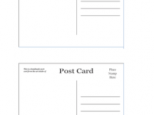 Postcard Template Png