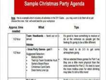 86 Printable Agenda Template For A Party in Word for Agenda Template For A Party