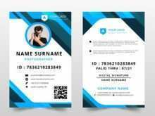 Id Card Template Hd