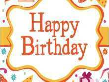 86 Standard Birthday Card Template For Wife Templates with Birthday Card Template For Wife
