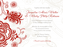86 The Best Chinese Wedding Card Templates Free Download Maker for Chinese Wedding Card Templates Free Download