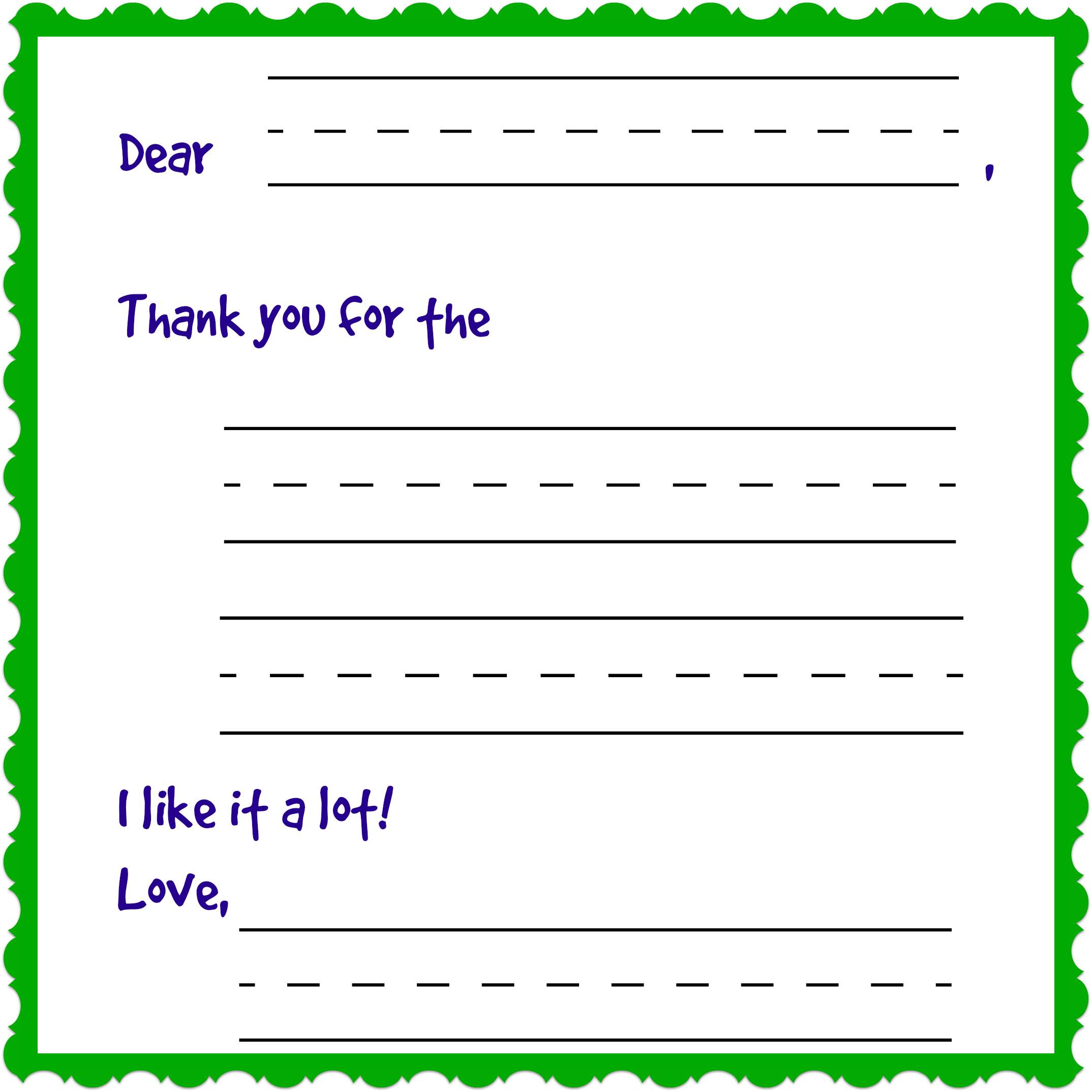 86 The Best Fill In The Blank Thank You Card Template in Word for Fill In The Blank Thank You Card Template