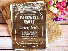 86 The Best Free Farewell Invitation Card Templates Photo by Free Farewell Invitation Card Templates